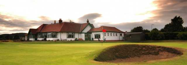 Scotscraig GC: Clubhouse