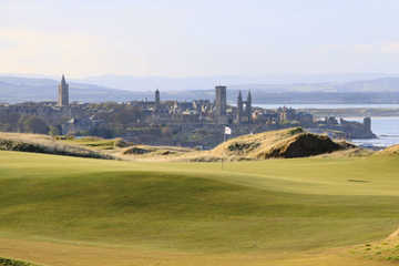 St. Andrews Links - The Castle Course: A view of the 3rd hole