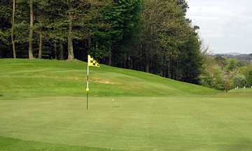 A view of hole #14 at Balbirnie Park Golf Course