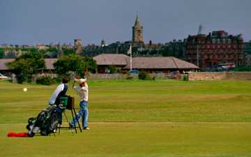 A view from Balgove Course at St. Andrews Links