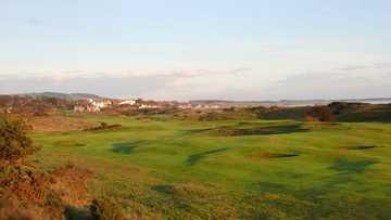 The breath taking views at Lundin Golf Club