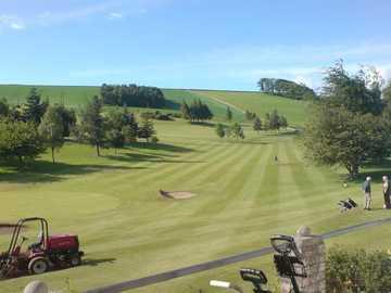 A view from Cupar Golf Club